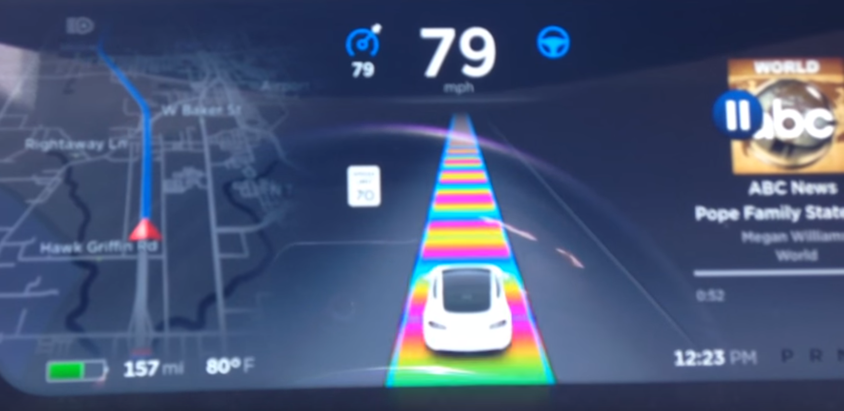 tesla rainbows