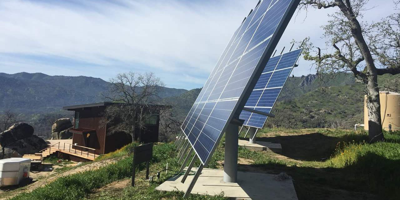 15kW of Off Grid Solar Power