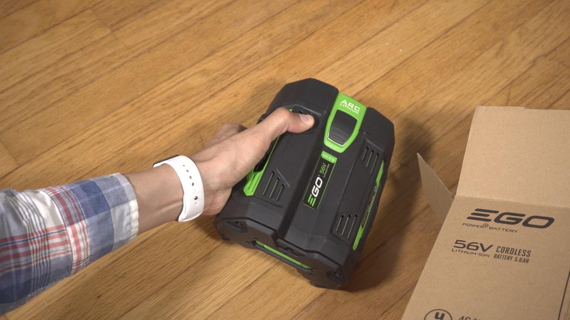 EGO Power Mower 05 Battery
