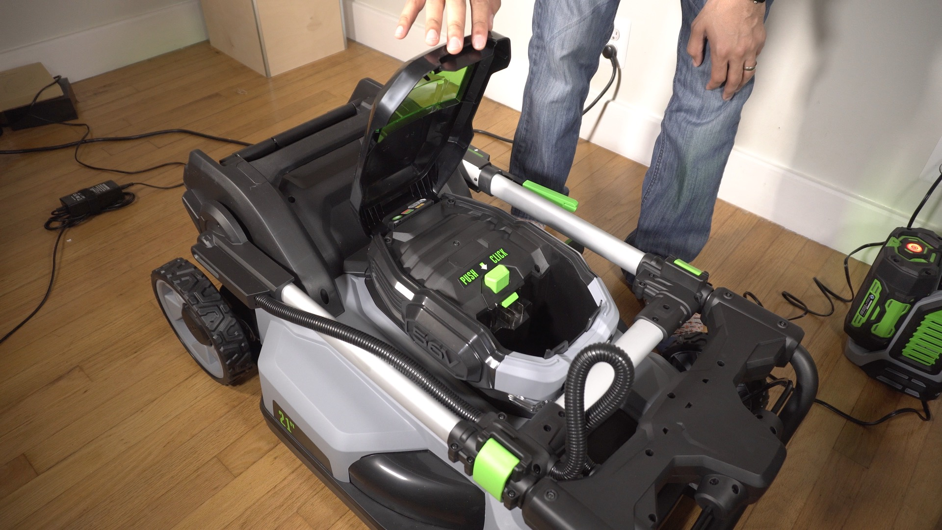 EGO Power Mower 06
