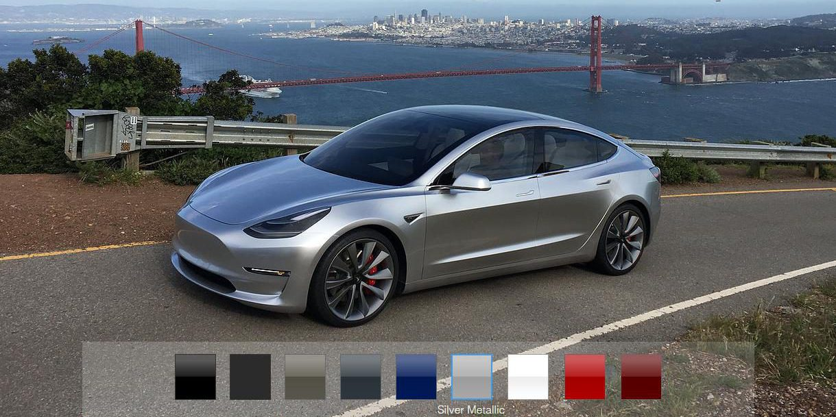 Tesla says Model 3 will have fewer than 100 configurations ...