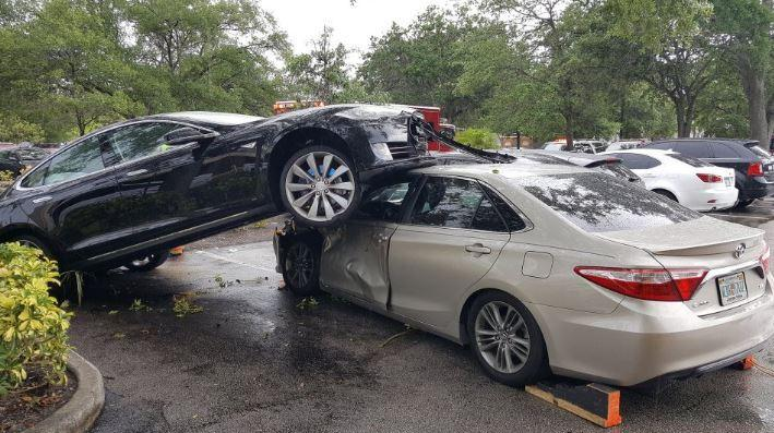 plantation tesla crash
