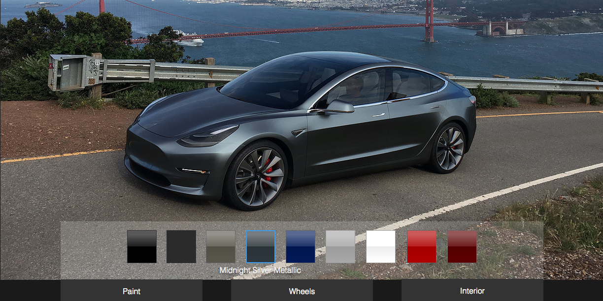 Feed your Tesla Model 3 obsession with this new online ...