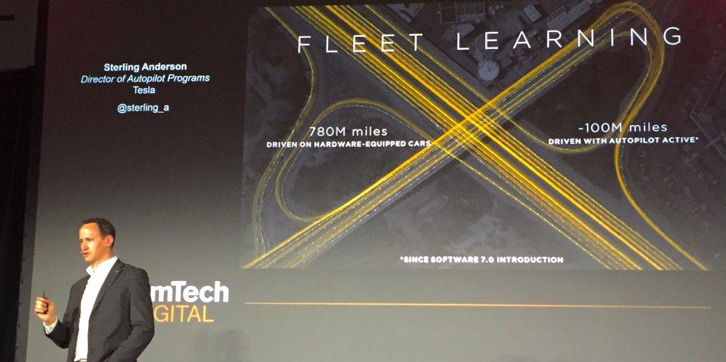 Tesla Autopilot miles driven 1