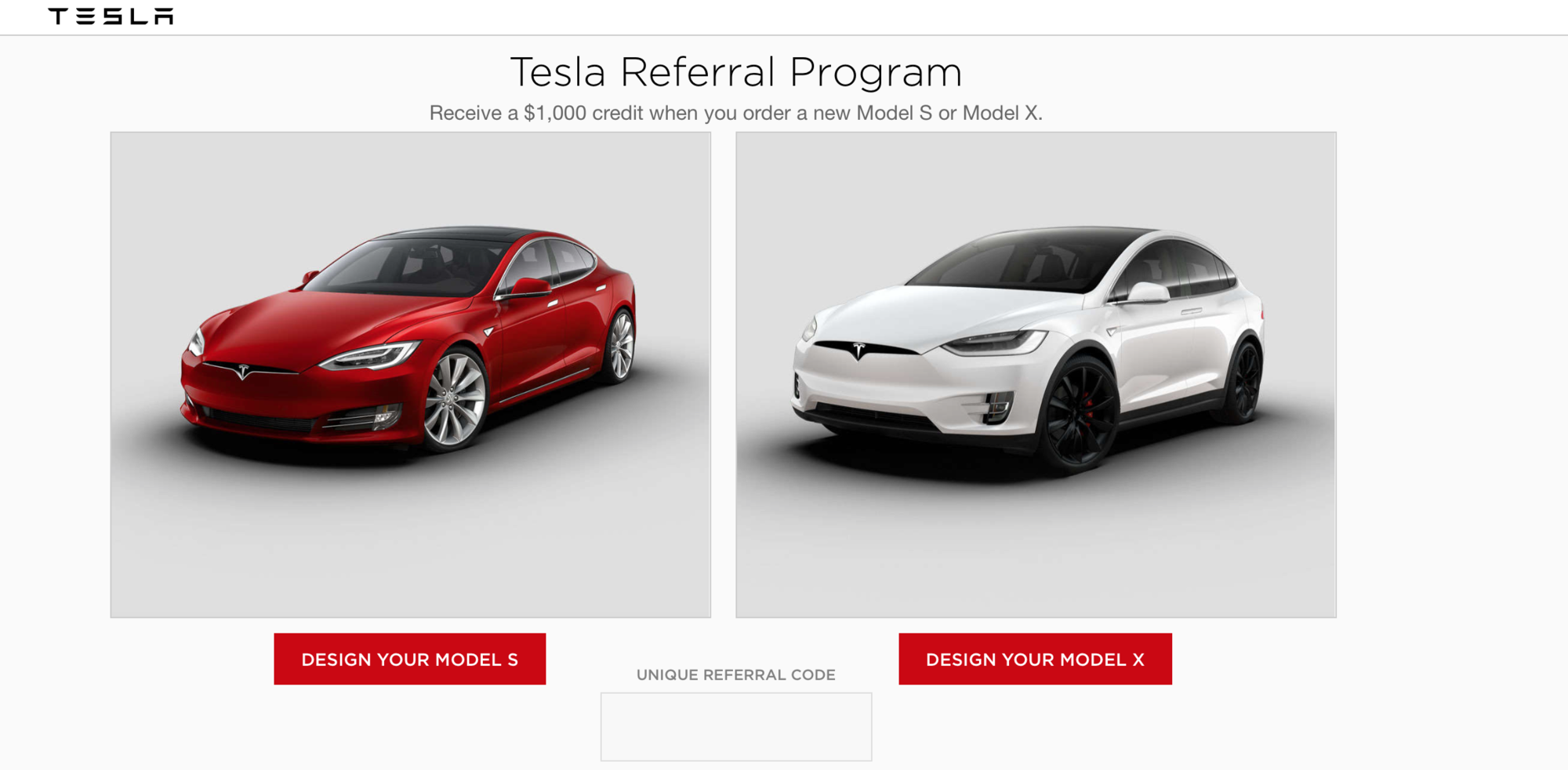Tesla referral program round 4