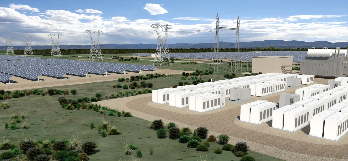 Connecticut Municipal Electric Energy Cooperative and SolarCity have announced the development of 13 megawatts (AC) of solar power systems and at least 1.5 megawatts (6.0 megawatt hours) of energy storage systems located in southern Connecticut. (sample rendering) Source: http://www.prnewswire.com/