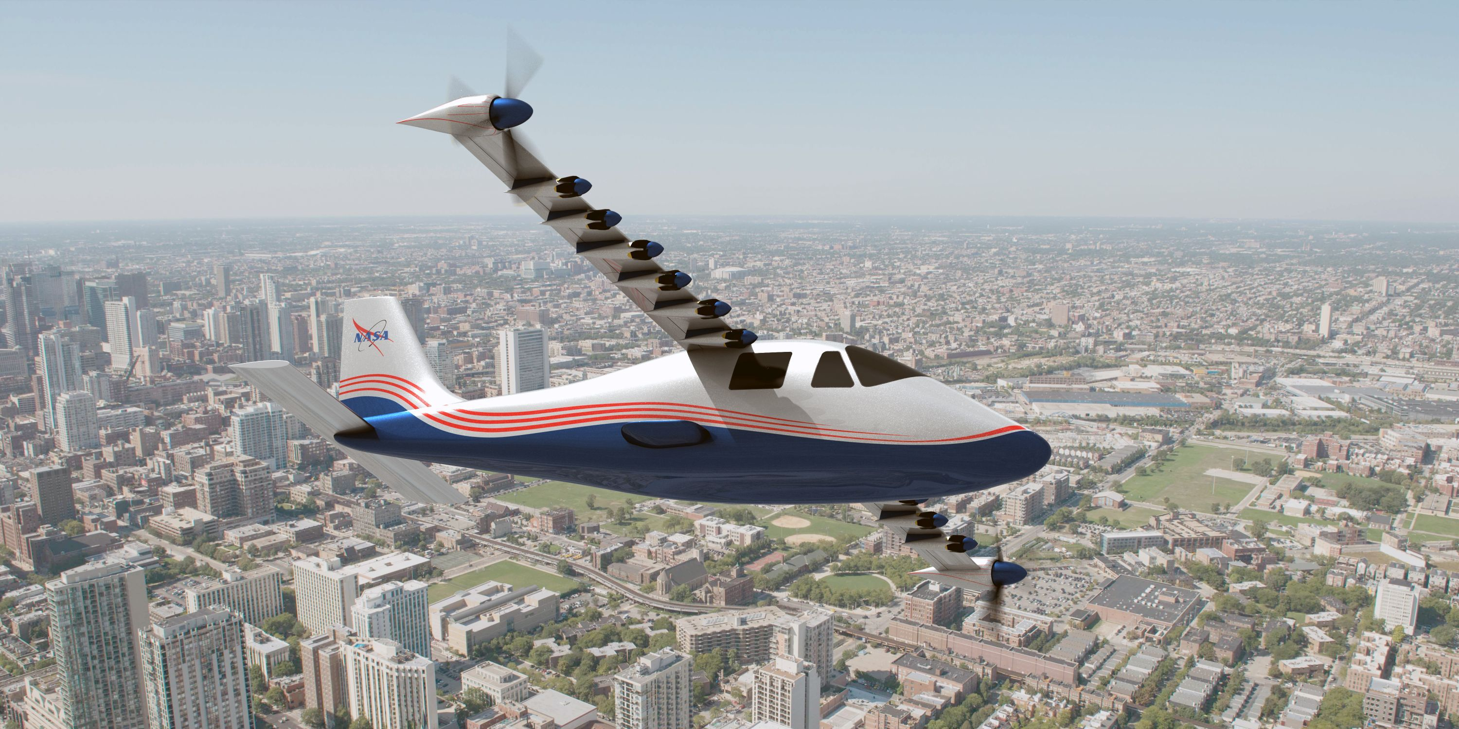 nasa-electric plane