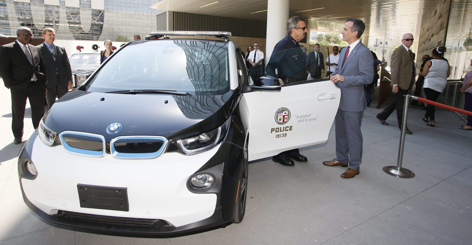 Lapd Is Apparently Barely Using Its Large Fleet Of Bmw I3 Electric