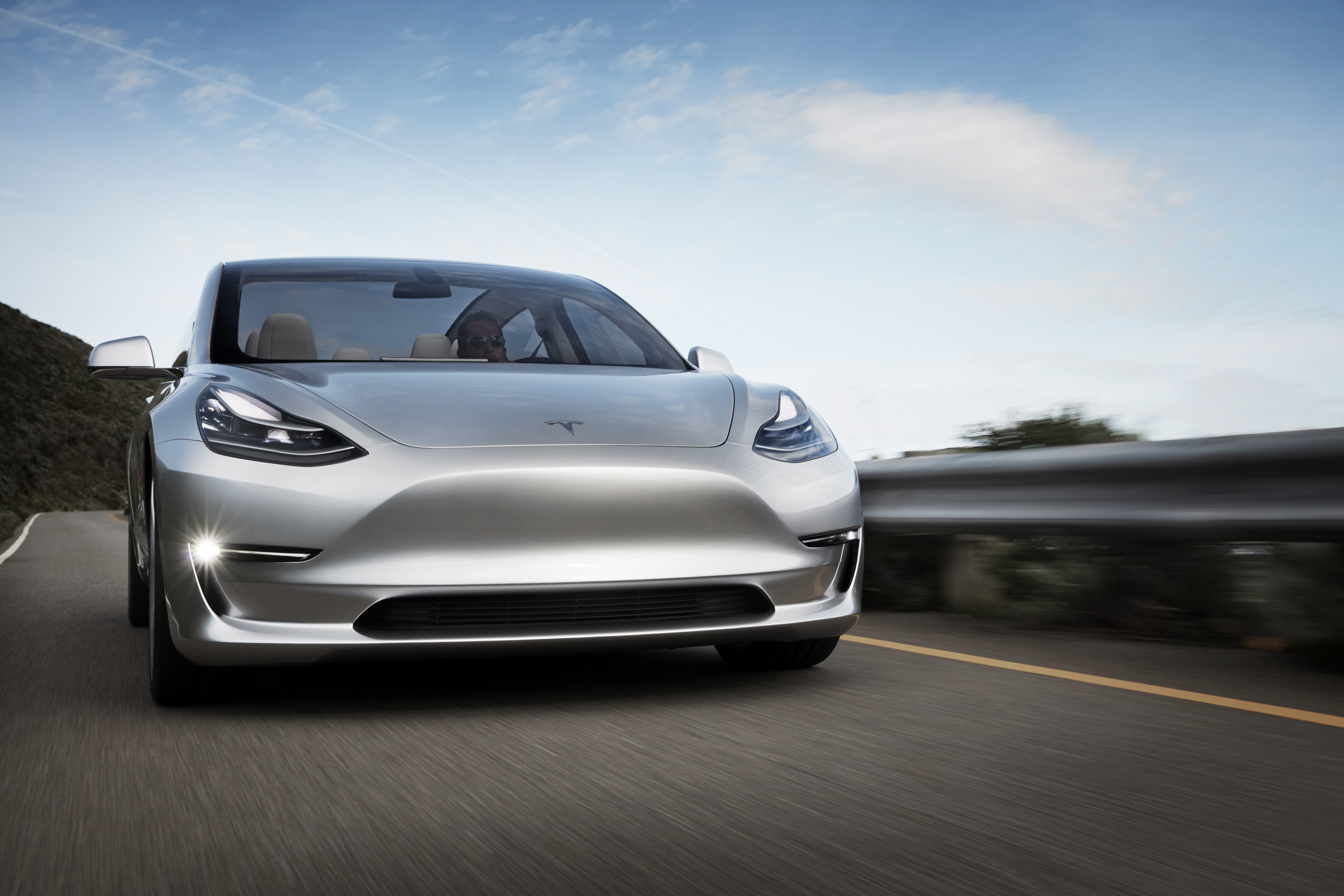 New Tesla Model 3 Promo High Res Shots Of The Silver