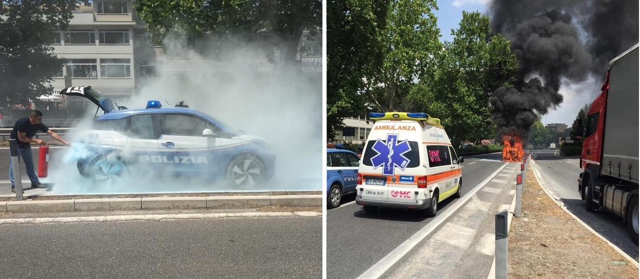 BMW i3 fire italia