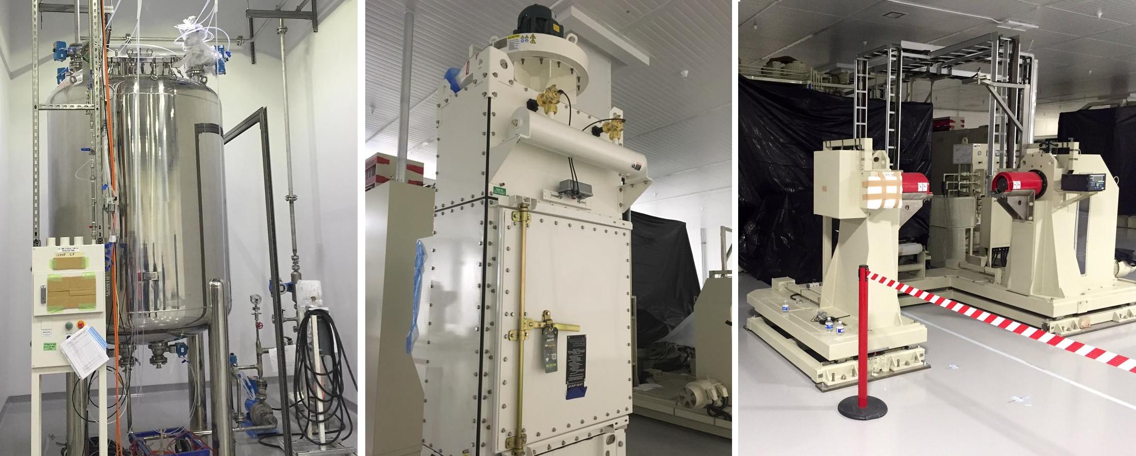 Gigafactory Panasonic machines