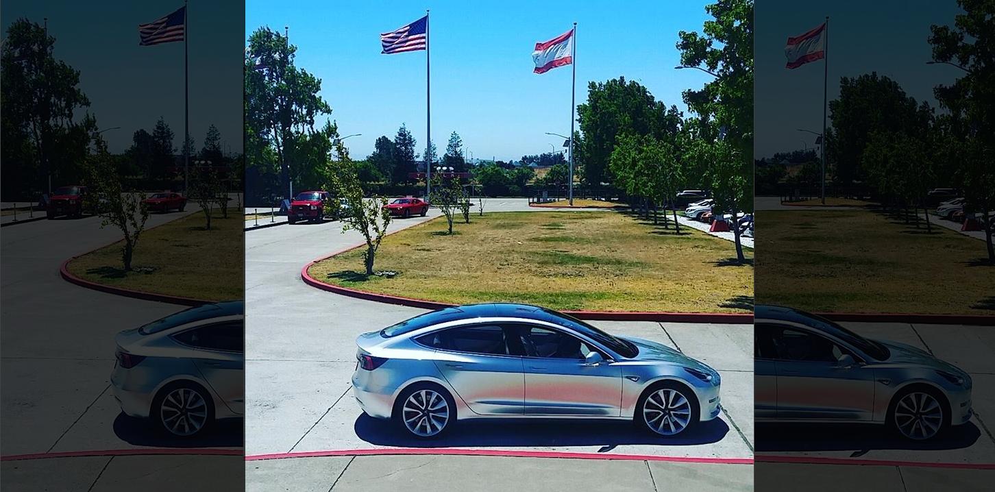 Model 3 fremont