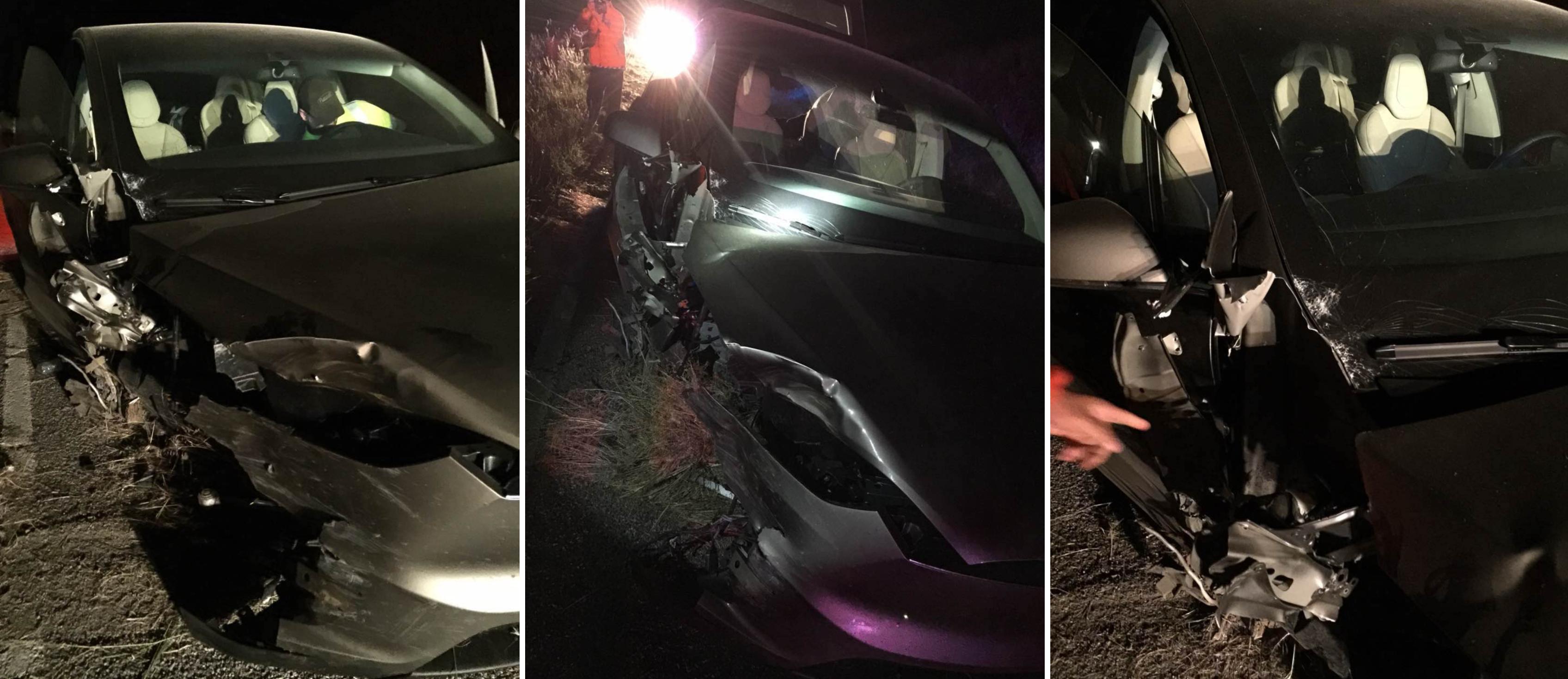 Model X crash Montana 9