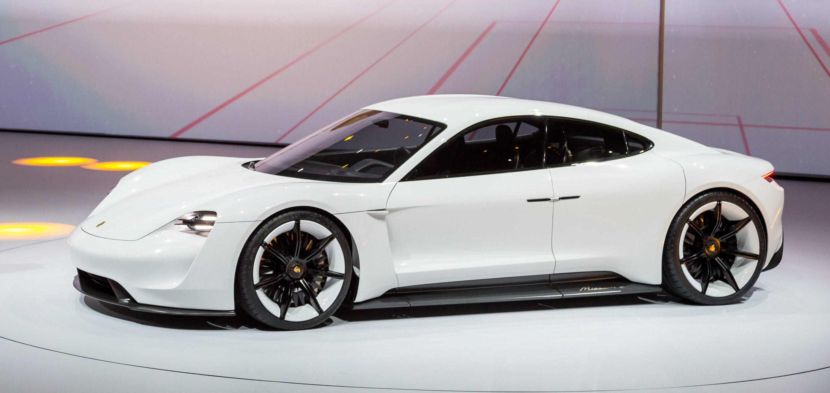 Porsche Mission E to start at ~$75,000 with three