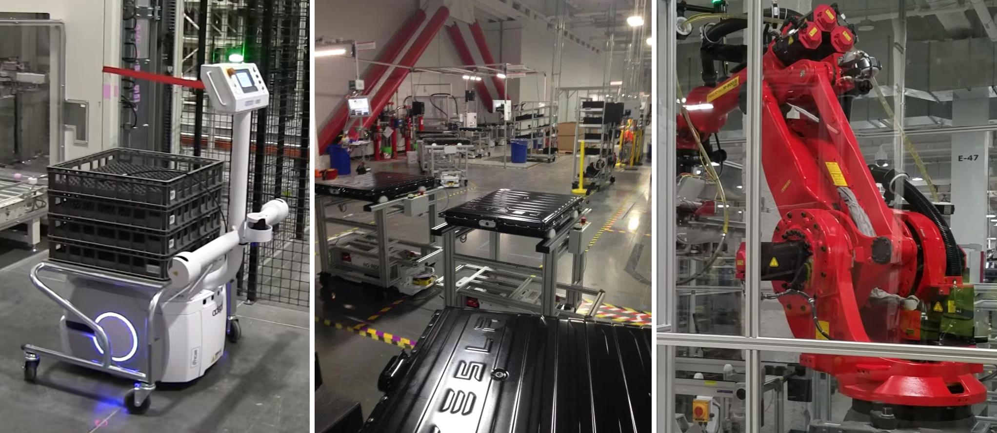 Tesla Gigafactory robot header