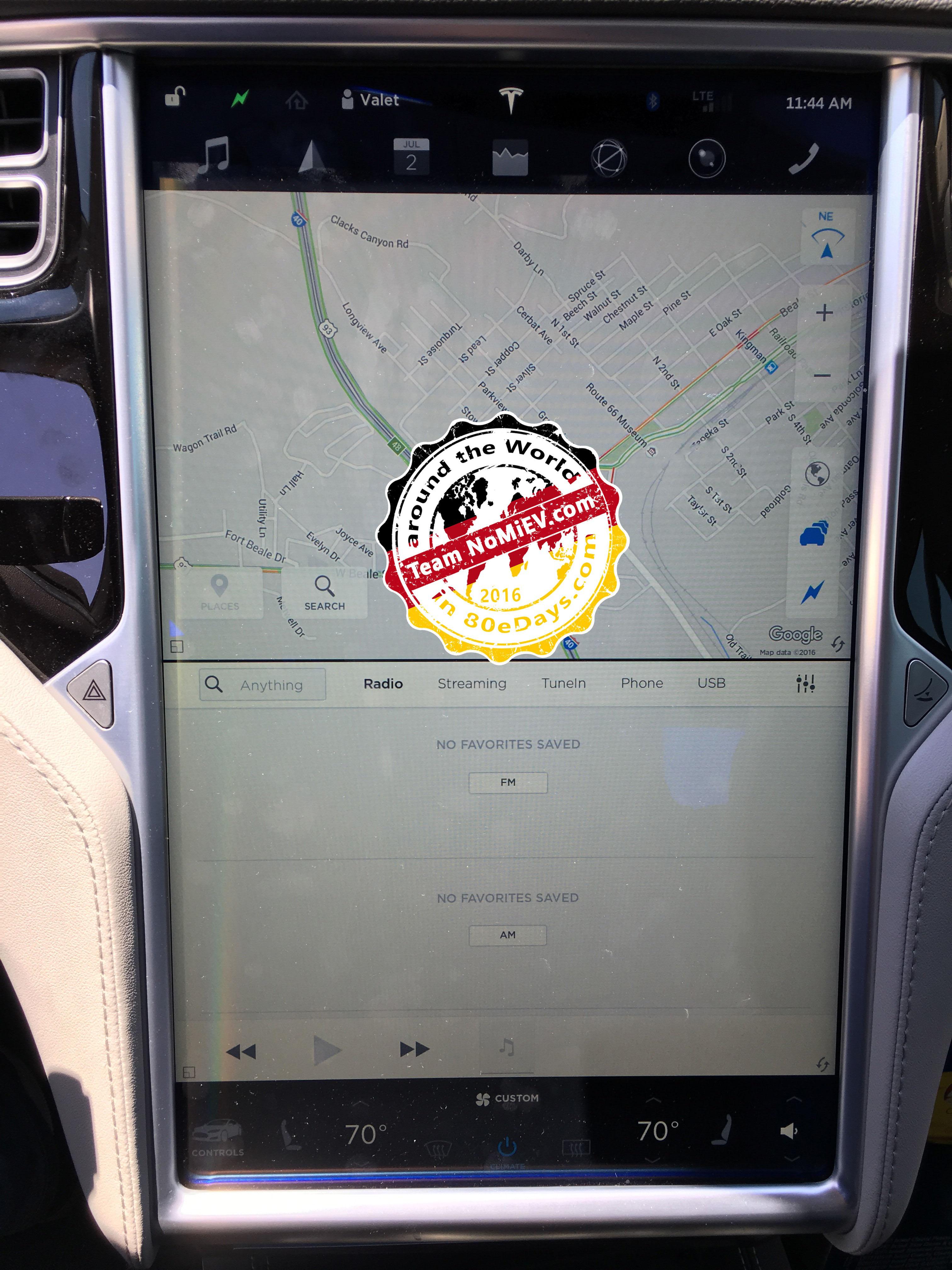 Tesla v8.0 ui