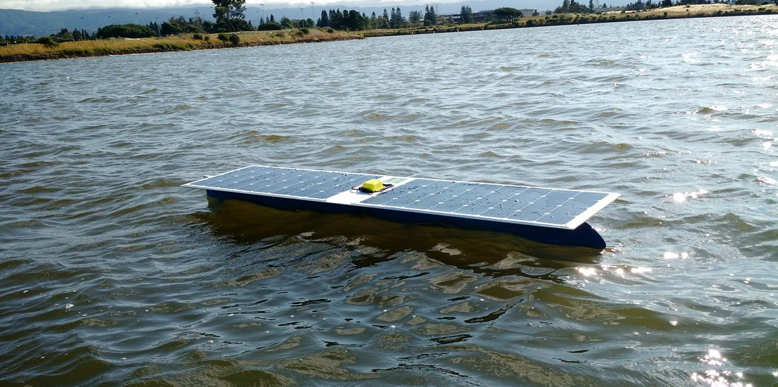 autonomous solar boat