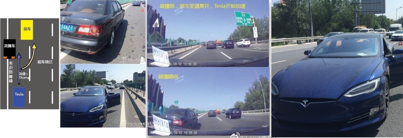 Autopilot accident china