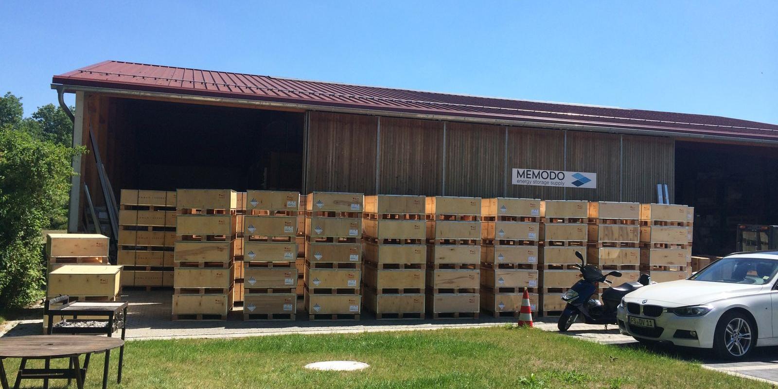 Memodo large Powerwall shipment