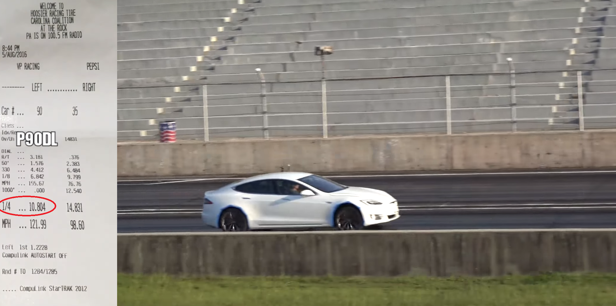 Model S 10 sec