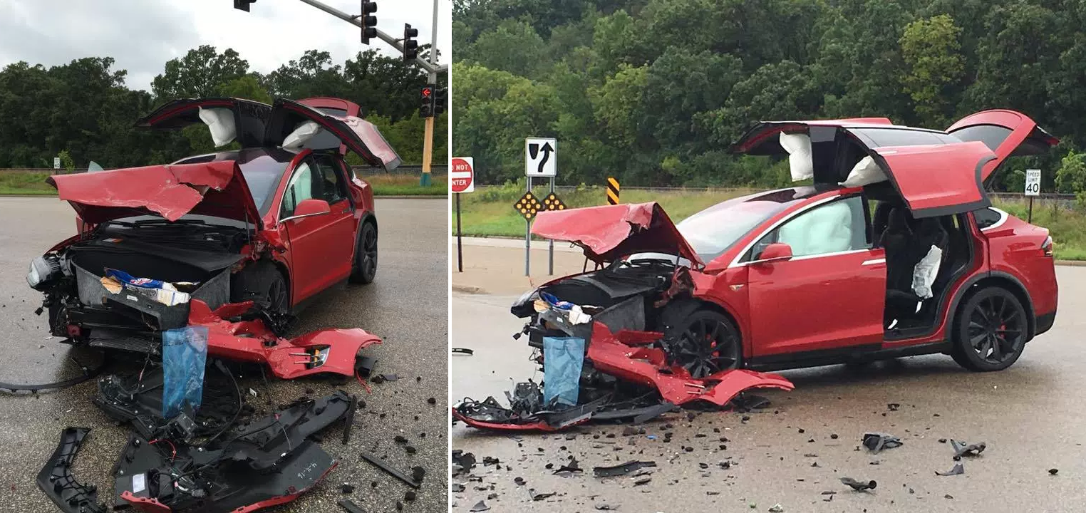 Model X accident MN 11