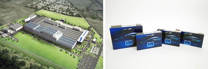 Samsung SDI plant