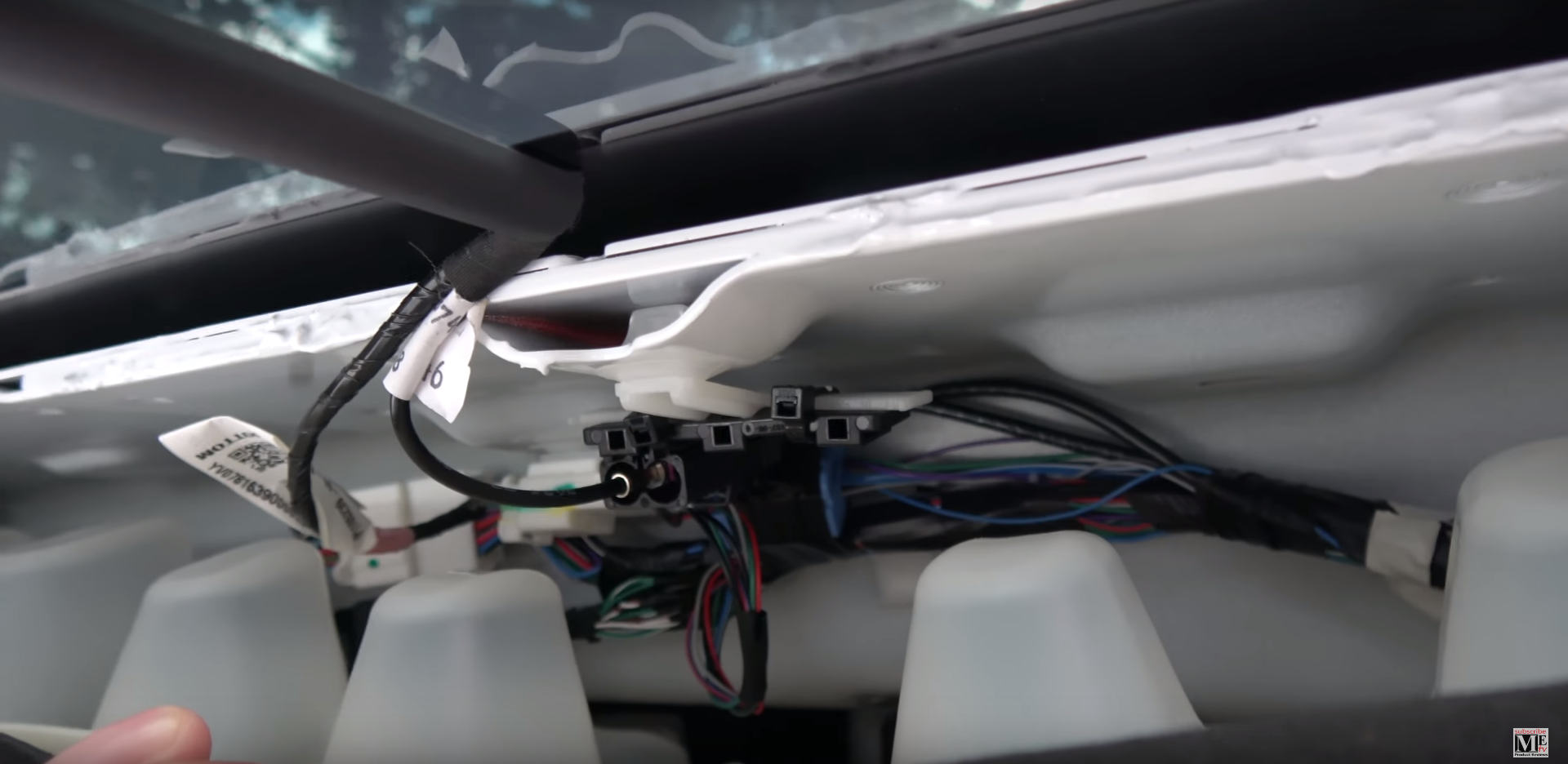 Tesla wiring harness model x