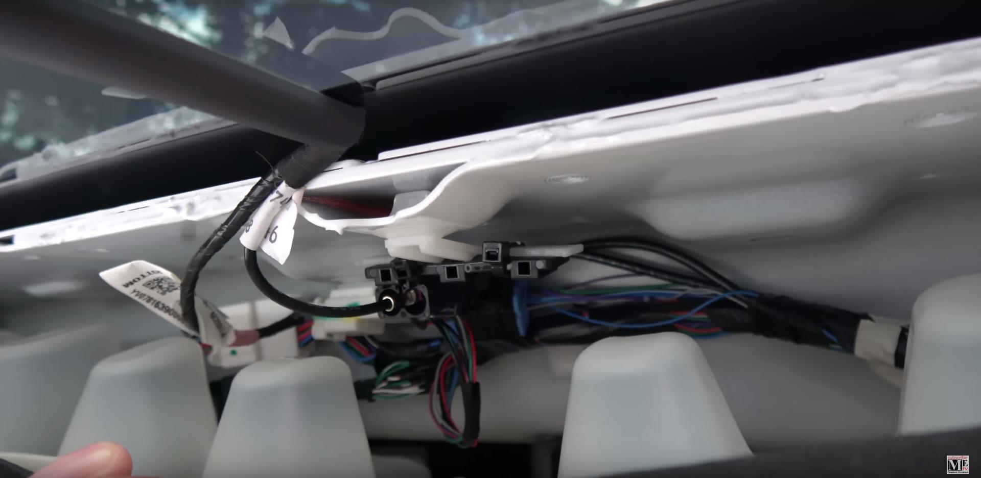 Tesla wiring harness model x