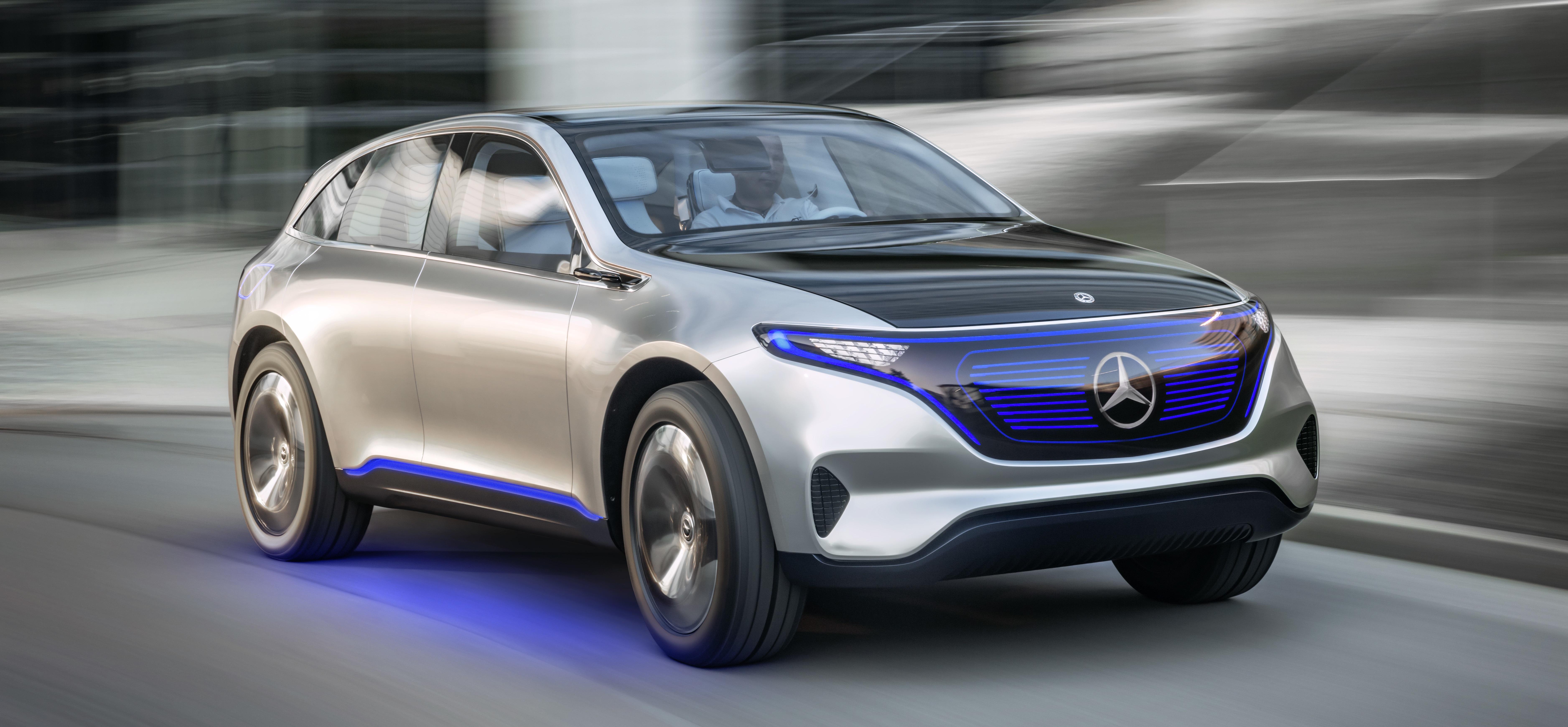 Mercedes electric car concept