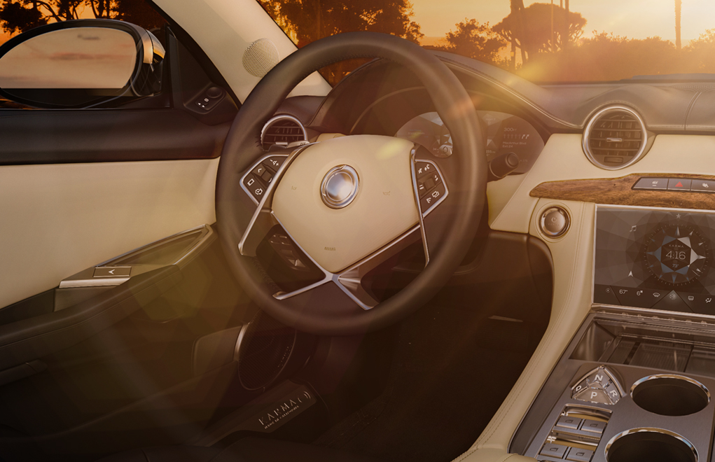 Karma released pictures of the interior for the first time: revero-8