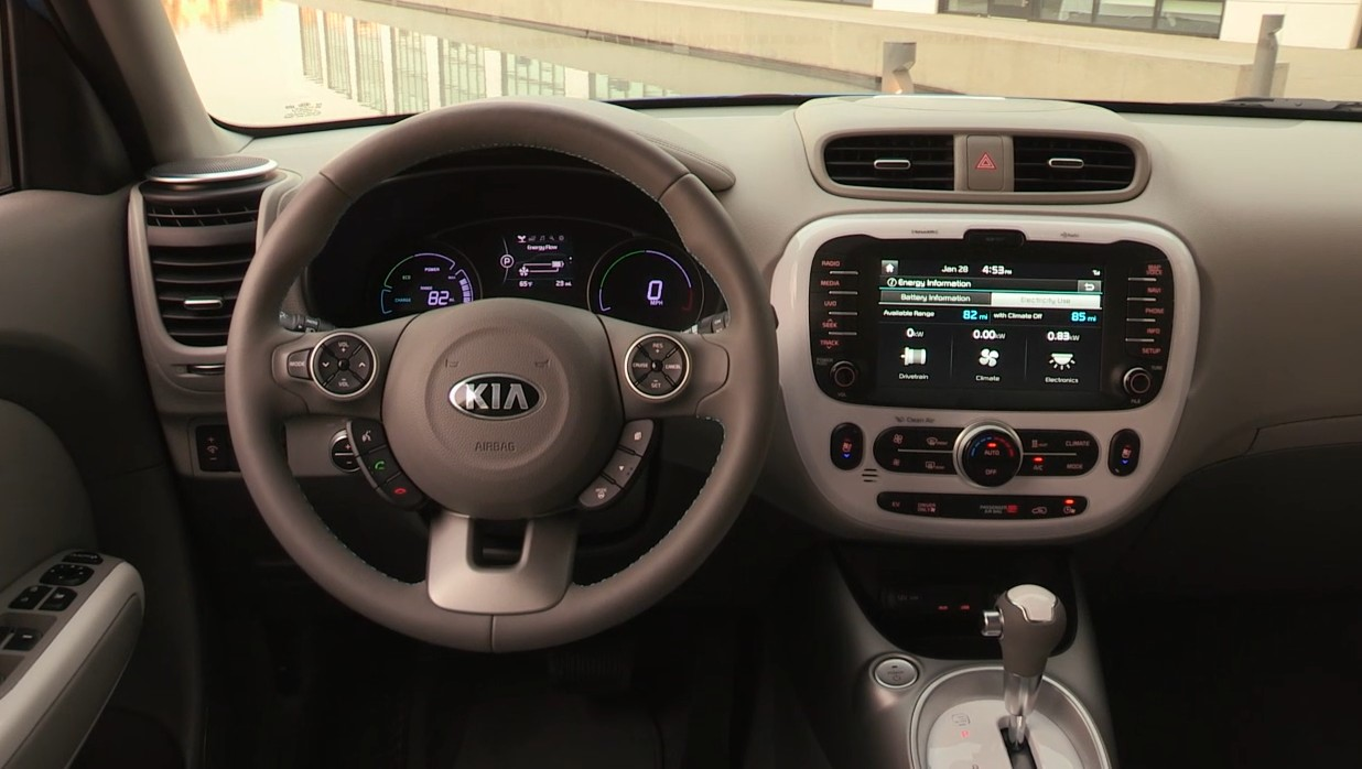 The Electrek Review Kia Soul Ev Shows How Easy It Is To Do Stereo System Wiring 2016