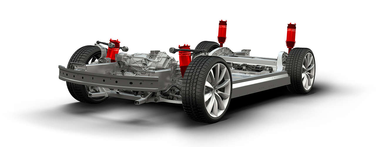 Tesla Model 3 To Have Smart Air Suspension With Dual Motor