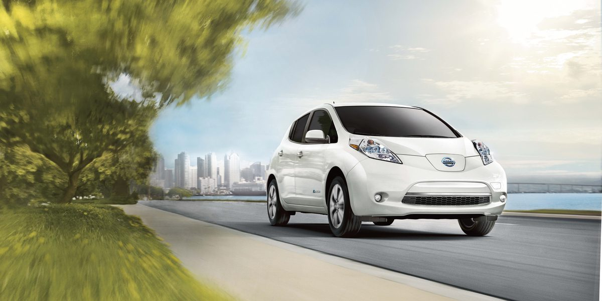 The 2017 Nissan LEAF features a high-response, 80kW AC synchronous motor that generates 107 horsepower and 187 lb-ft of torque, providing a highly responsive, fun-to-drive experience that consumers often expect from traditional, gasoline-powered vehicles.