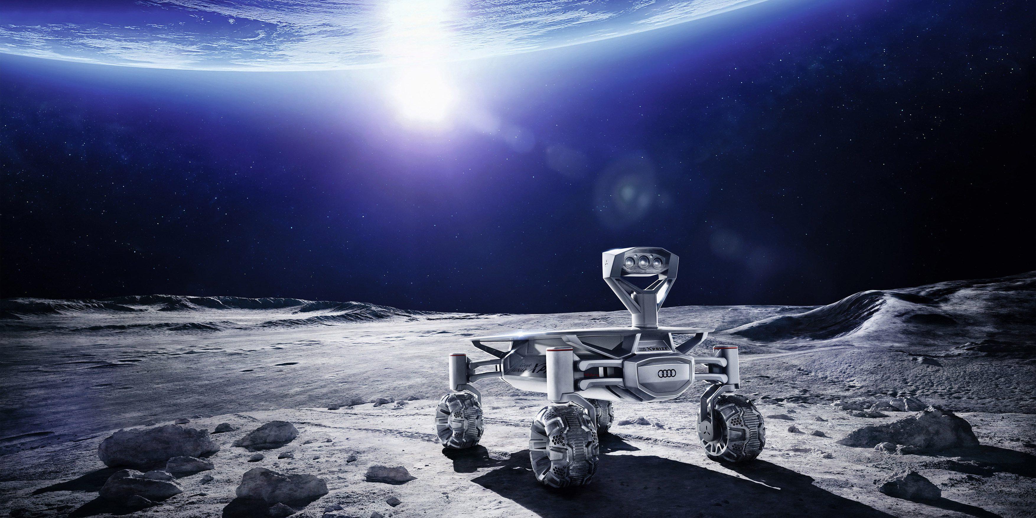 MISSION TO THE MOON Audi lunar quattro