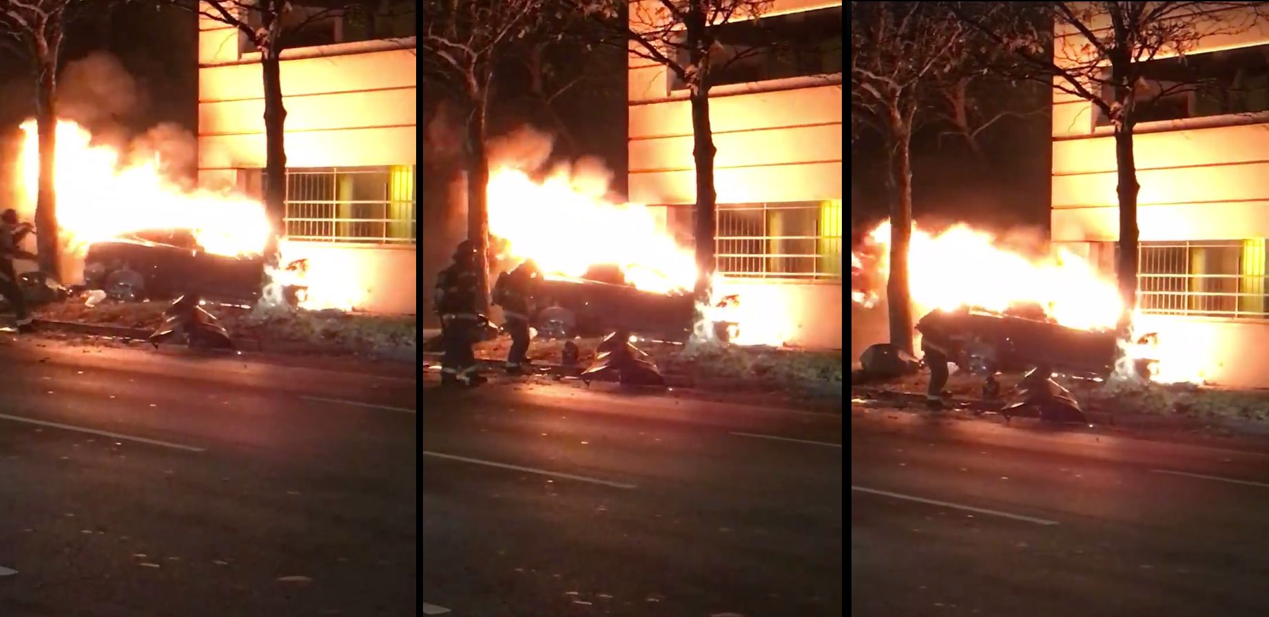 tesla-fire-crash-indianapolis