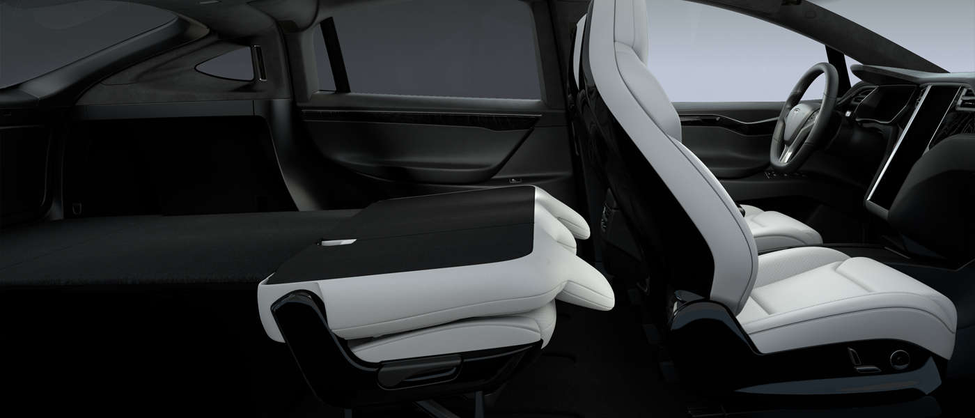 Tesla introduces new fold-flat seats config in Model X ...