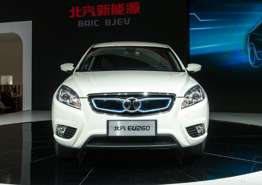Baic Is A State Owned Automaker Behind The Joint Ventures Of Global Car Brands Like Mercedes And Hyundai Its Eu260 Model Arrived In Volume This Year