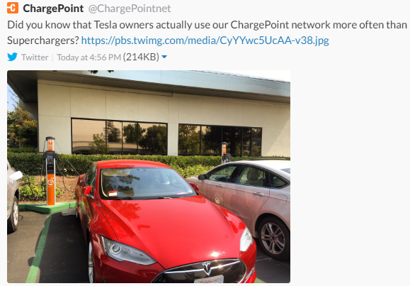 Chevy Bolt Ev Mis Advertising Access To Tesla Supercharger And