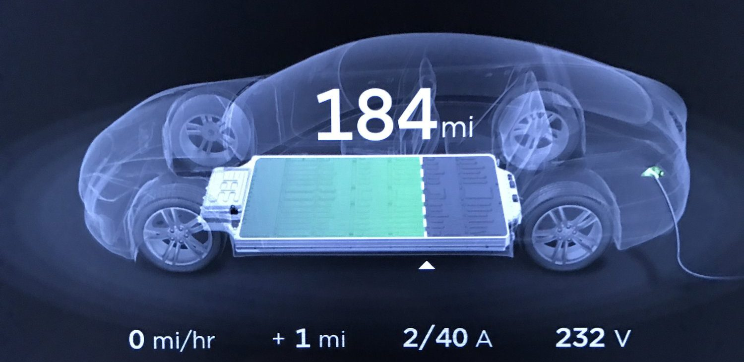 Tesla is working on a battery pre-heating feature to