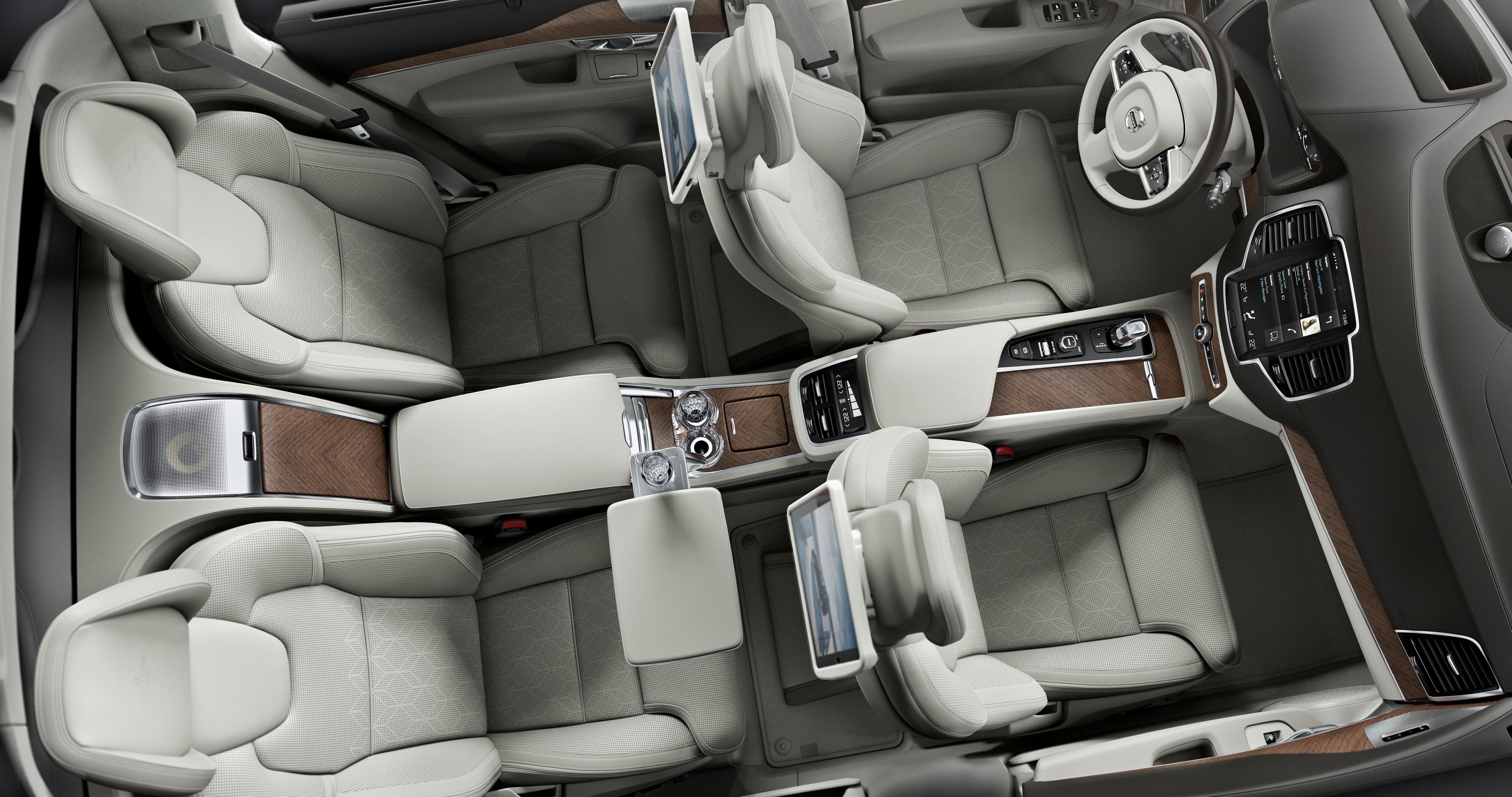 Volvo XC90 Excellence – interior | Electrek