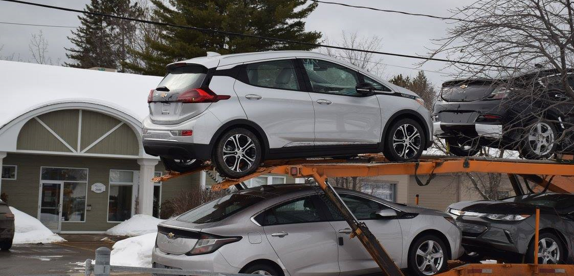 Chevy Bolt Ev Arrives In Canada First Delivery In Quebec New Zev