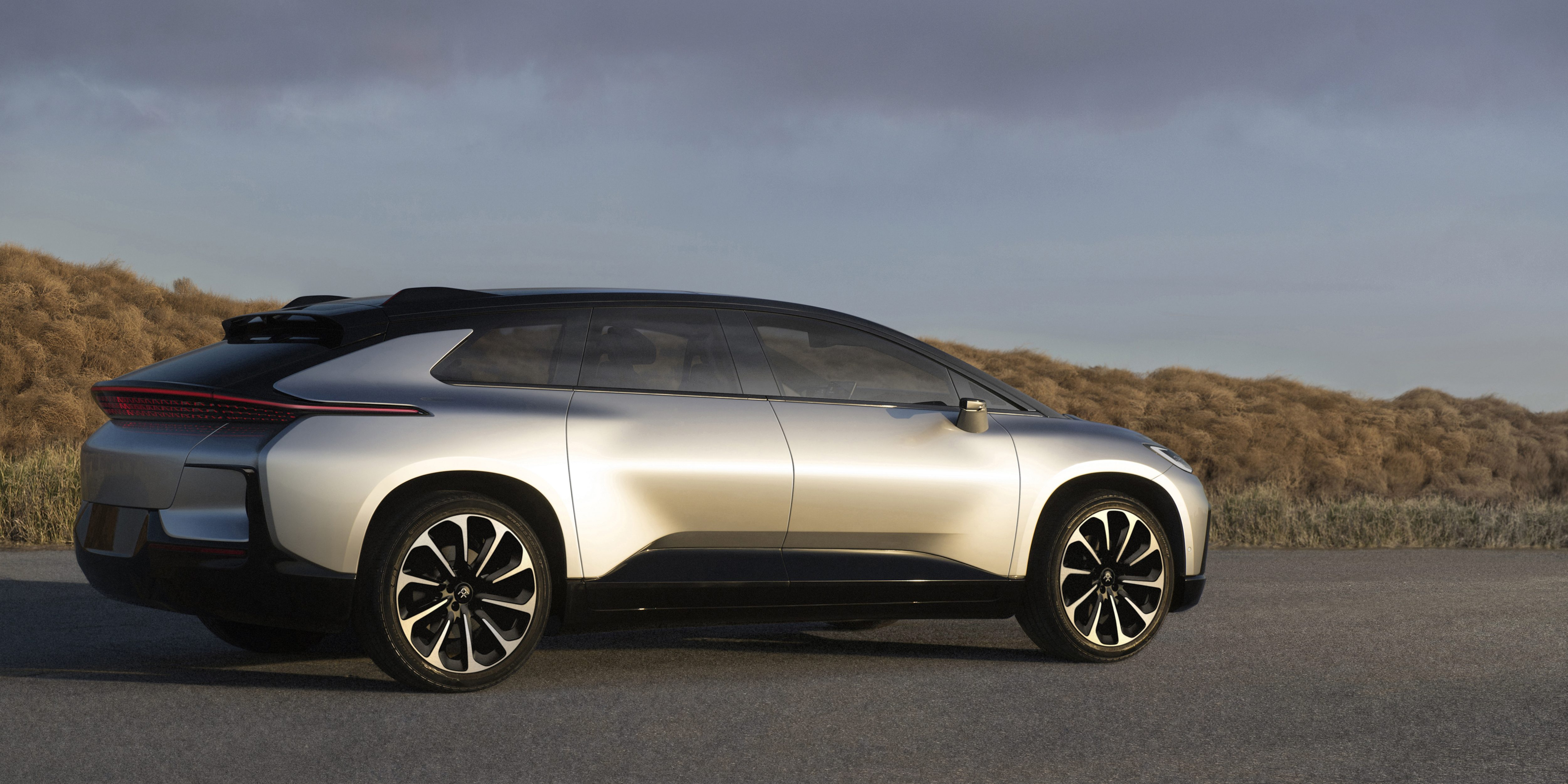 faraday future s new ff91 electric vehicle will cost less than rh electrek co