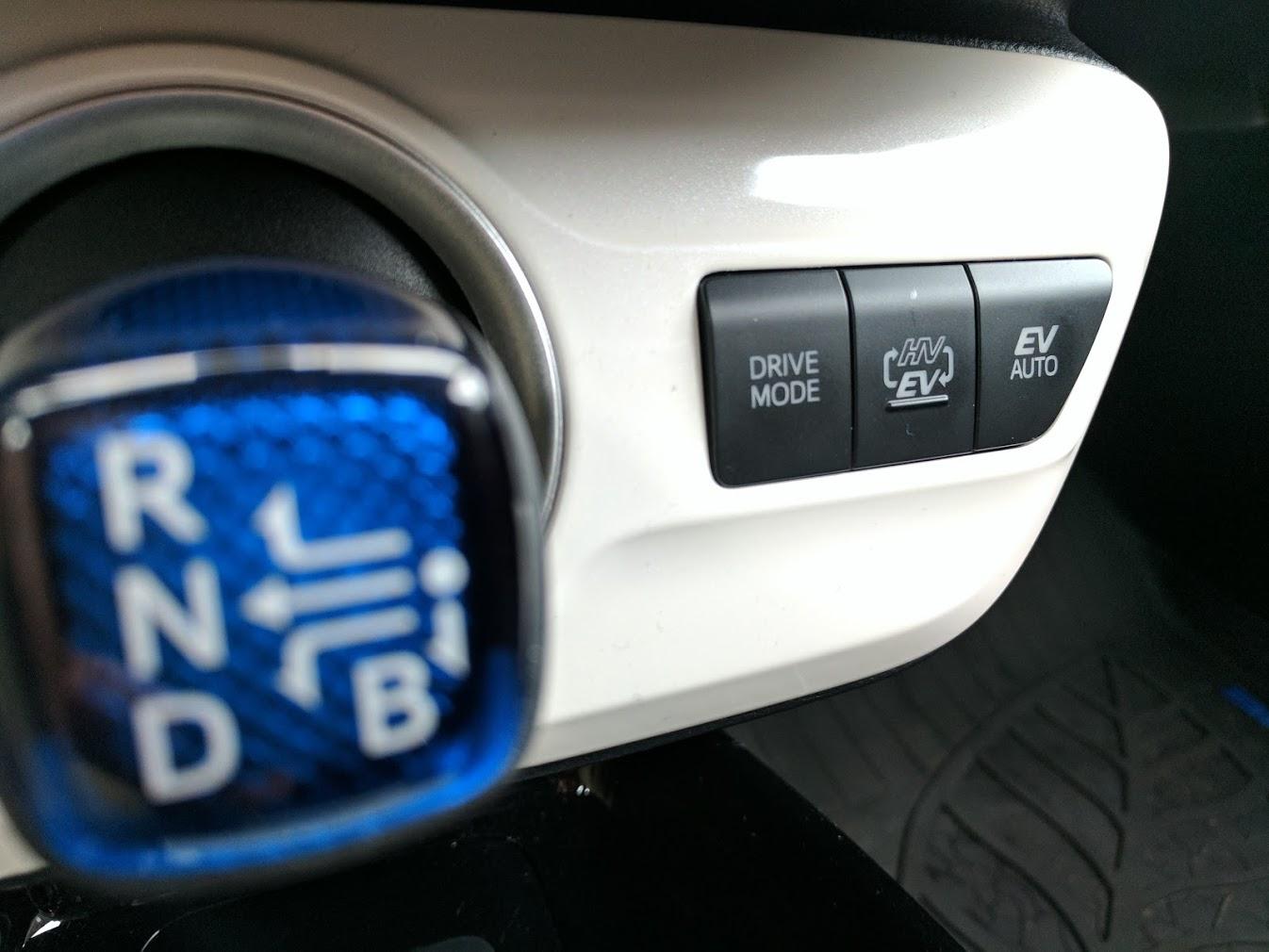 Drive Mode Plug In Prius