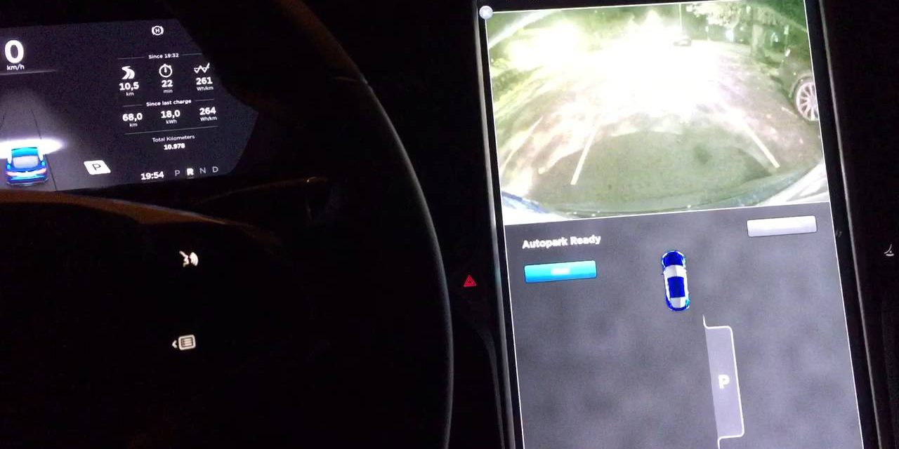 Tesla releases 'Autopark for parallel parking' on ...
