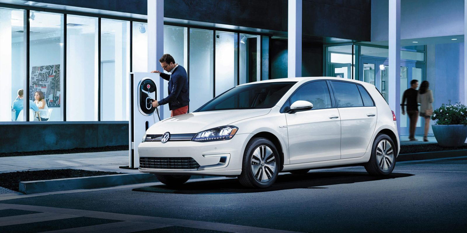 Volkswagen Of America >> Vw Starts Building Its Massive Ev Charging Network Under