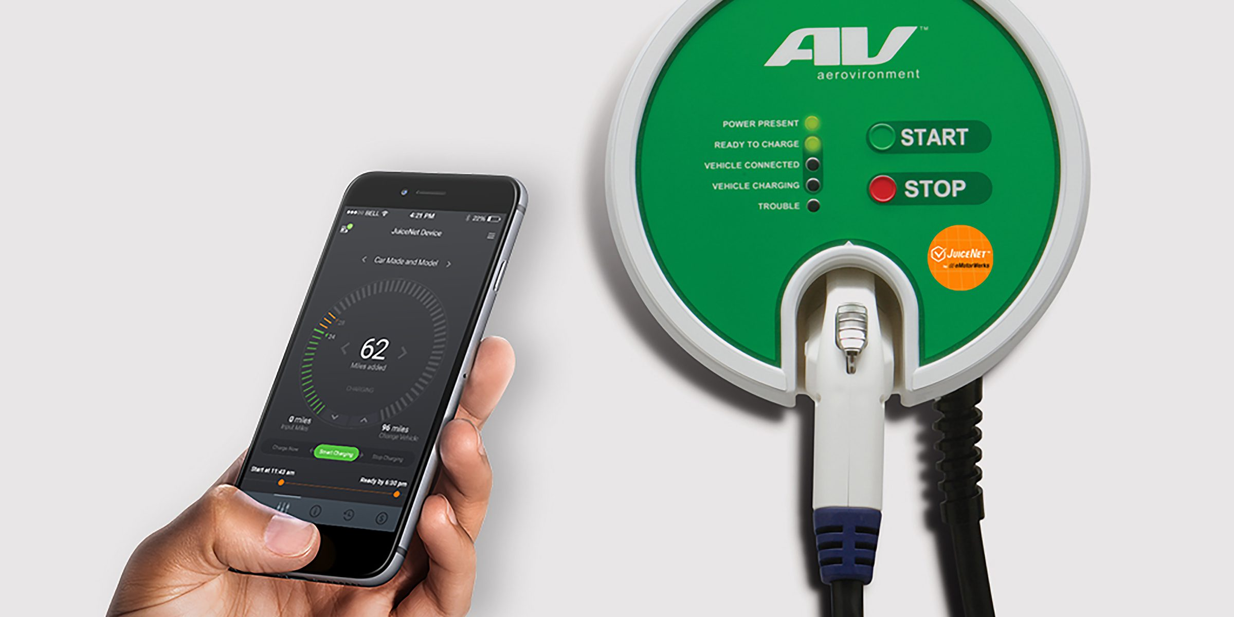 Uber Vehicle Solutions >> EV charger makers AeroVironment and eMotorWerks partner to