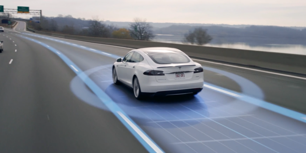 Image result for self driving tesla