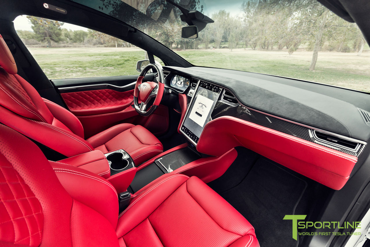 A custom Tesla Model X with a Bentley's interior goes on sale for