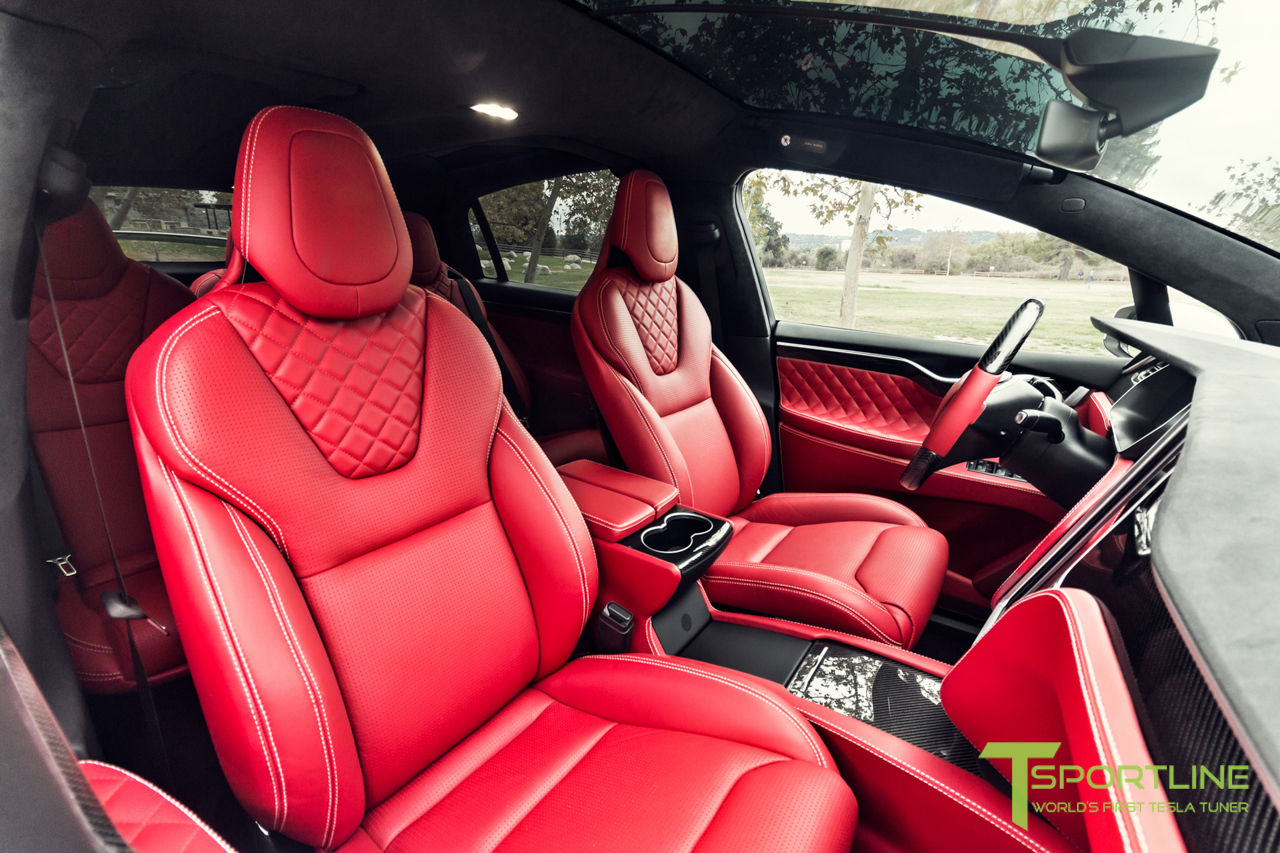 Tesla Will Release A New Red Interior Next Year Says Elon Musk