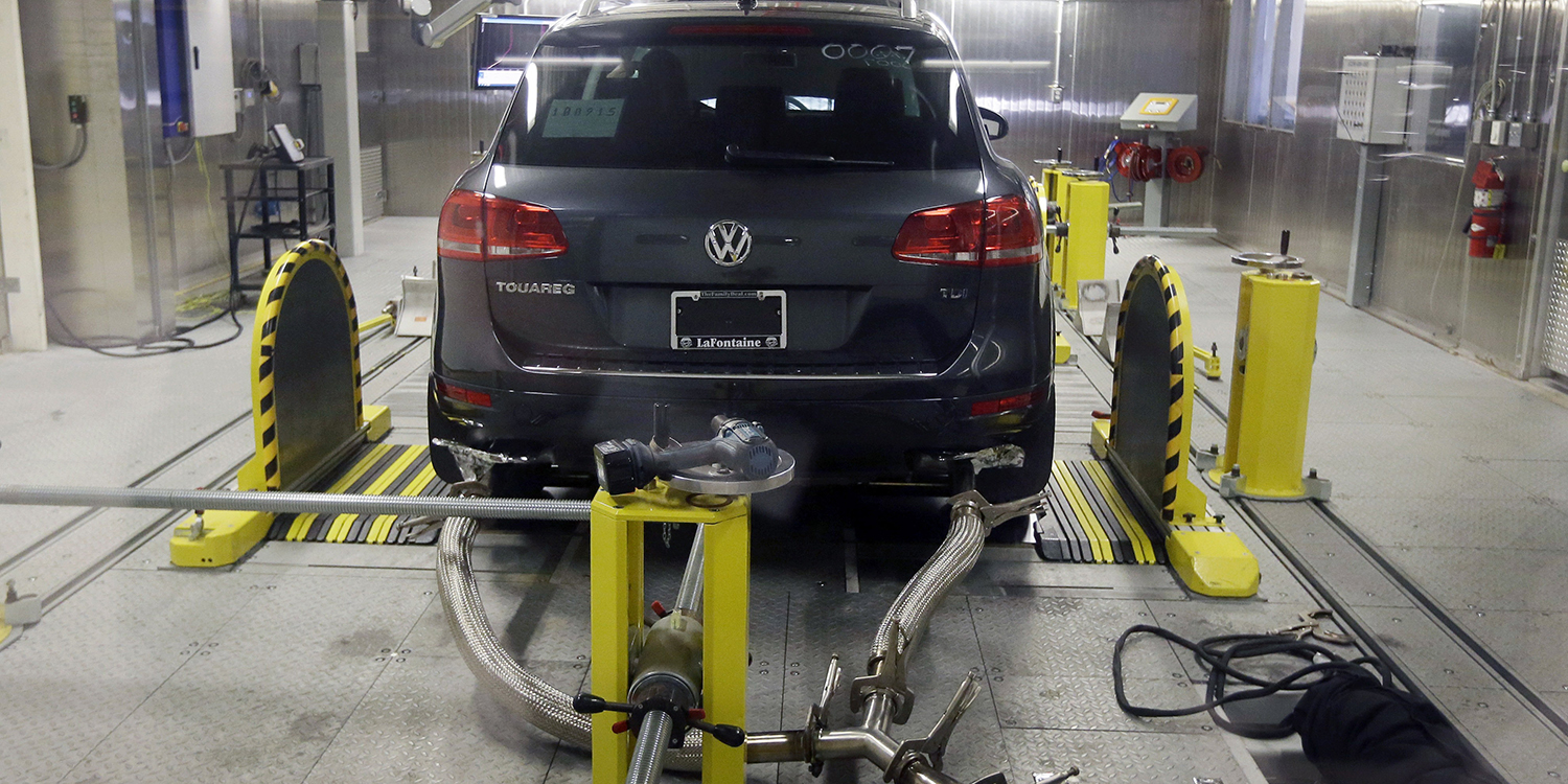 EPA emissions testing lab AP photo